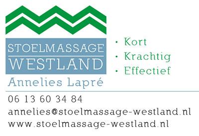Annelies Lapre van Stoelmassage Westland