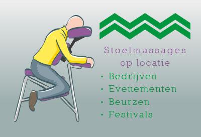 Stoelmassage bij bedrijven evenementen en op locatie
